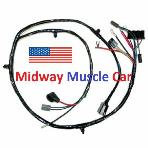 front end wiring harness Chevy pickup truck suburban 63-66 eBay