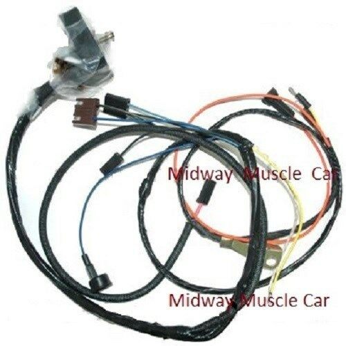 engine wiring harness w/ gauges 69 Chevy Camaro SS 427 350 396 rs/ss