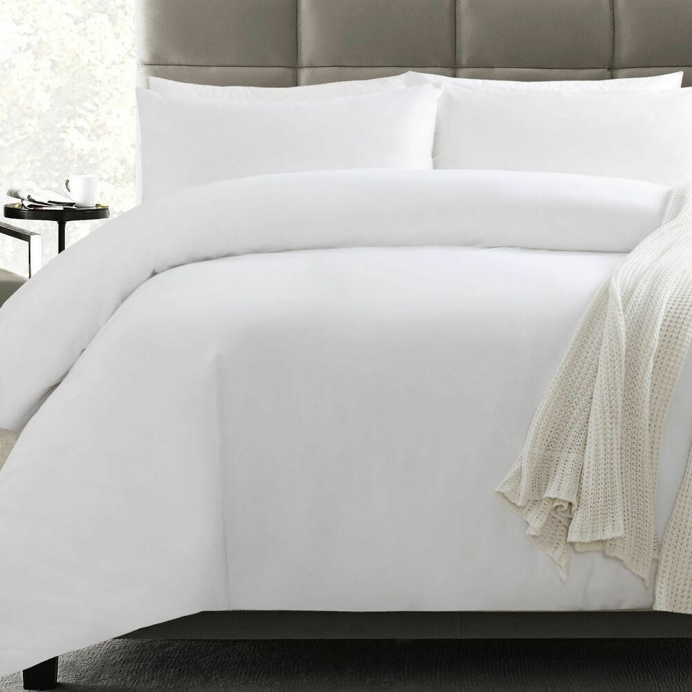 Doona Protector Waterproof Anti Allergy Bamboo Cotton Quilt Duvet Protector Set Single Double Ebay