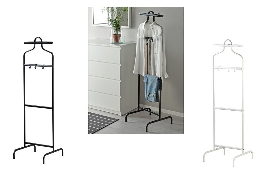 Valet Stand Ikea Ikea White Mulig Valet Clothes Rail Display Rack Coat