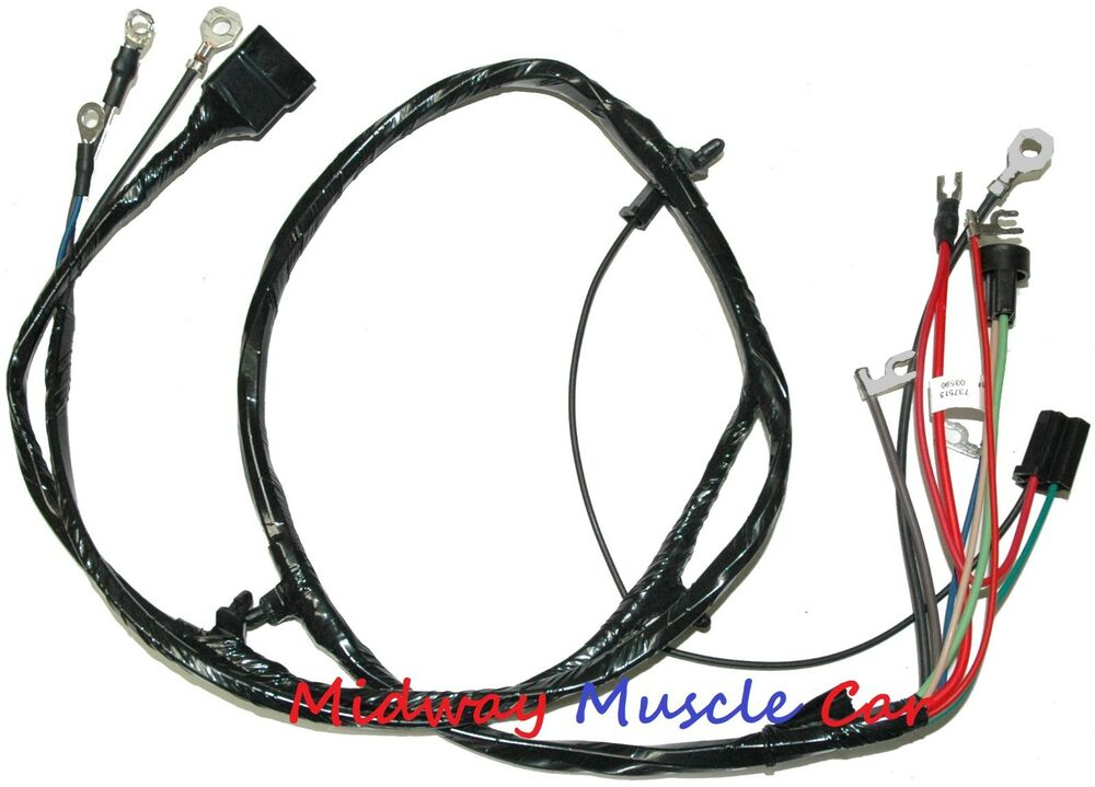 front end wiring harness w/ stock generator 61 62 Chevy pickup truck