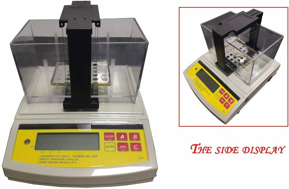 Density Testing Digital Precious Metal Analyzer Gold Silver Purity Testing Machine