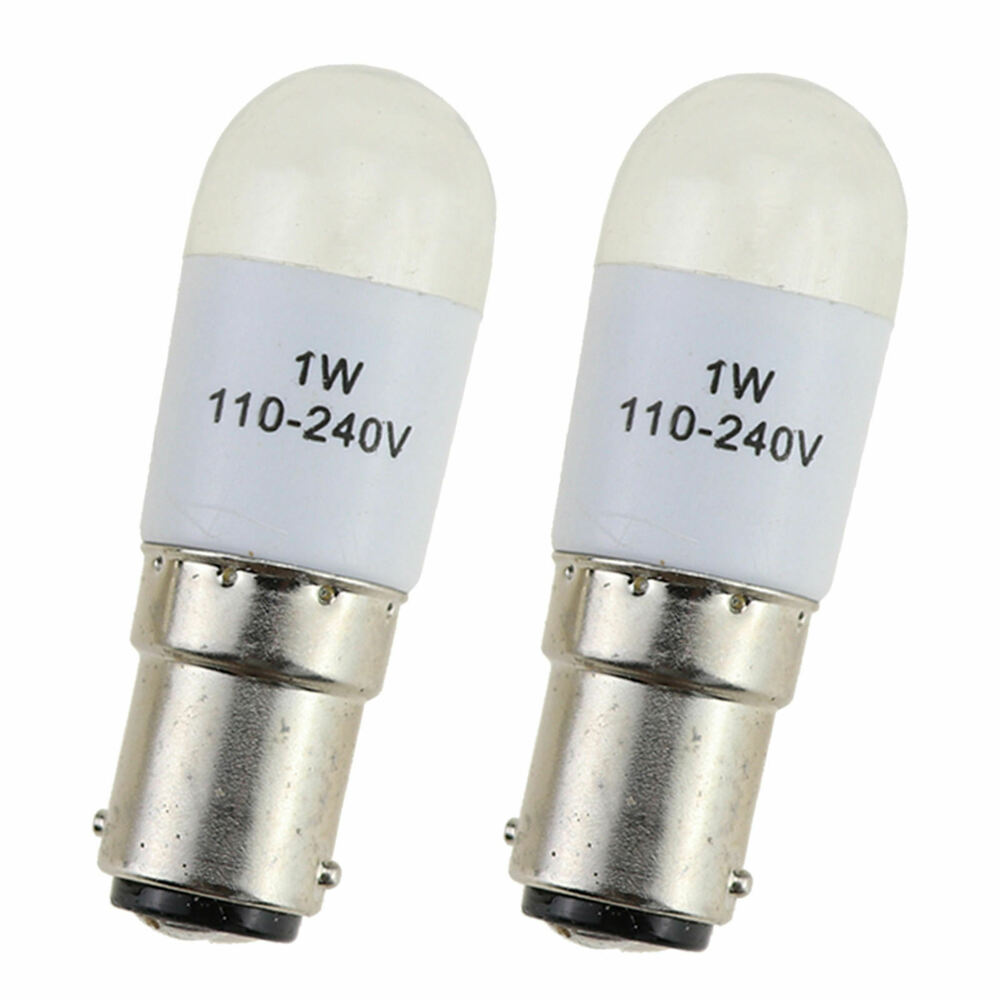 Bulb Led Screw 2pcs Sewing Machine Light Bulb Led Lamps Screw In For Tailor Sewing 6cm Ebay