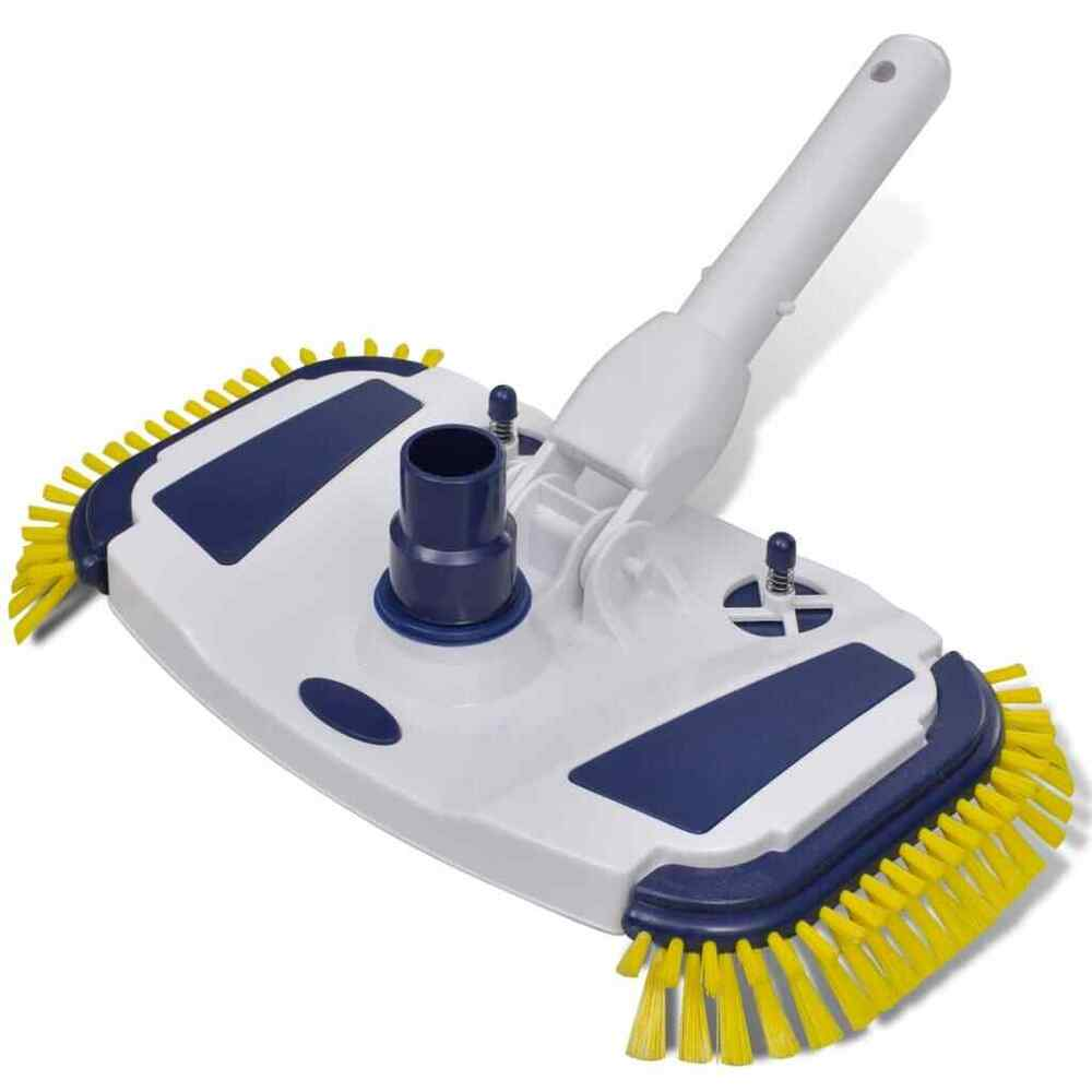 Pool Bodensauger Set Vidaxl Pool Vacuum Head Cleaner Brush Sweep Broom Side Brushes Cleaning Set 8718475871361 Ebay