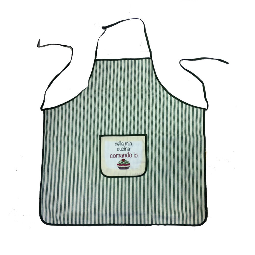 Nella Cucina Products Apron Cooking Lines In Mia Cooking Command I Country Style 8012979385158 Ebay