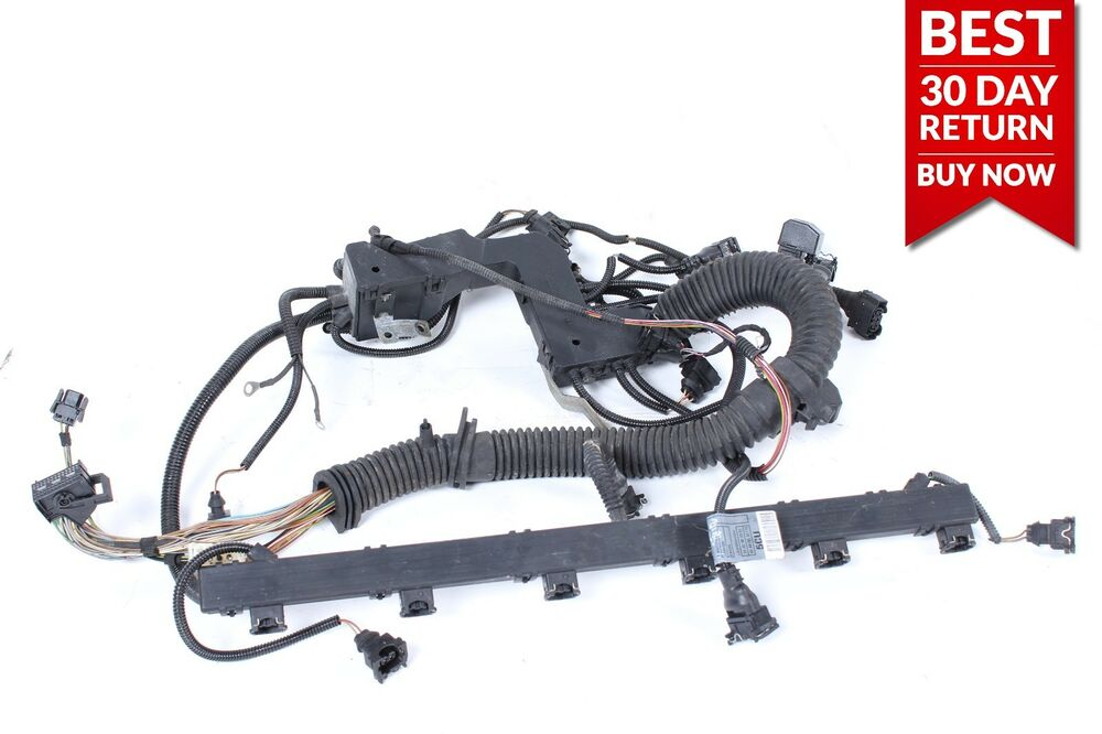 99-02 BMW E46 323i Engine Ignition Coil Spark Plug Wire Wiring