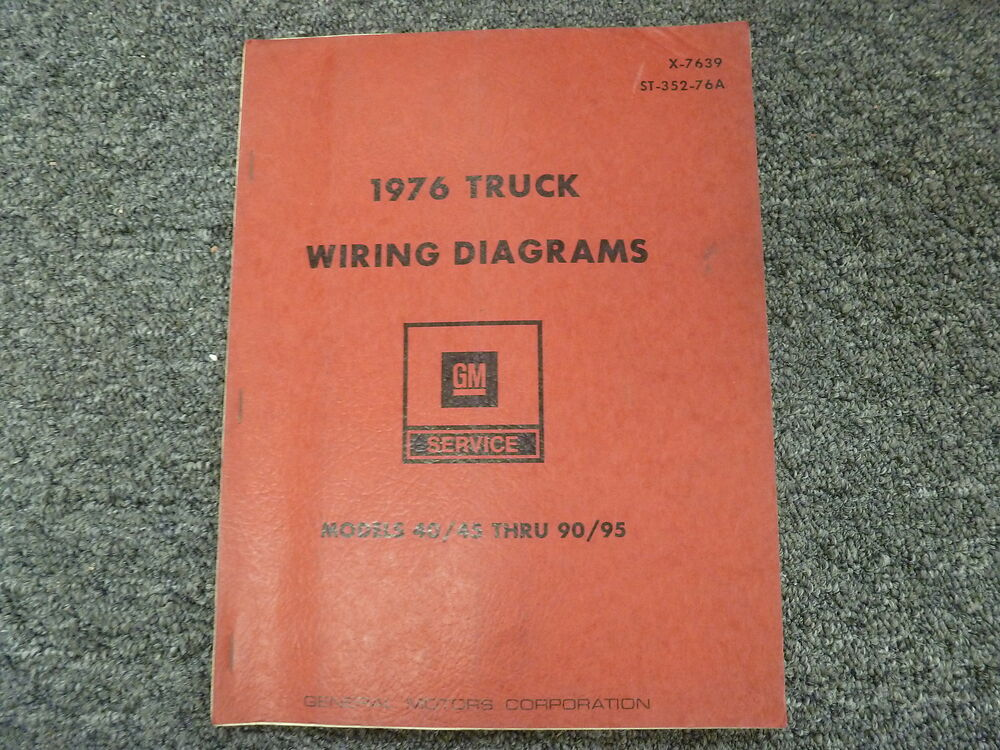 1976 Chevy C40 C50 C60 C70 Medium Duty Truck Electrical Wiring