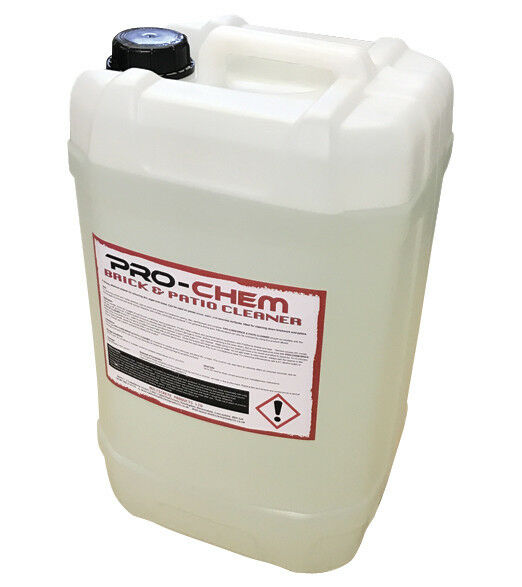 Hydrochloric Acid Industrial Brick Patio Cleaner 25l Pro