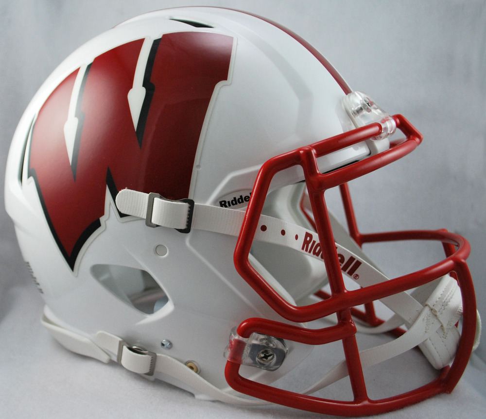 Replika Watch Wisconsin Badgers Ncaa Riddell Speed Full Size Authentic