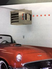 DORNBACK HEATERS GARAGE FURNACE SHOP UNIT Made in USA ...