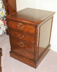Victorian Mahogany Office File Cabinet Drawer Chest Filing ...