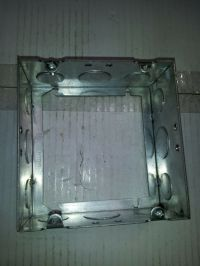 """4-11/16"""" Square Welded Electrical Extension Box Ring 2-1/8 ..."""