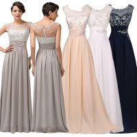 Dress Wedding Long Bridesmaid Prom Party Evening Gown ...