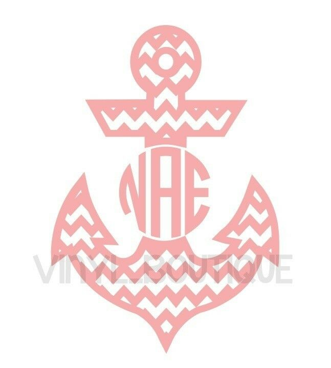 circle monogram stickers