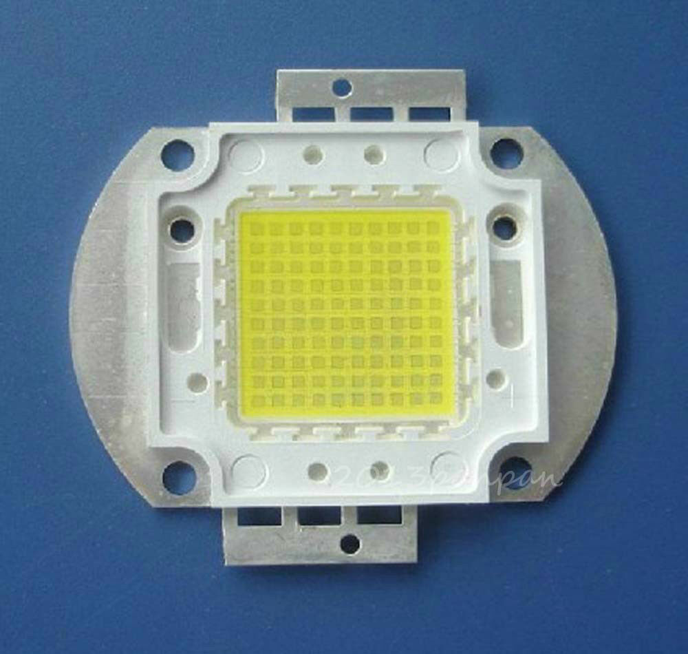 100 Watt Lamp 100w High Power 10000k Led Light Smd 10000lm 30-36v Cold