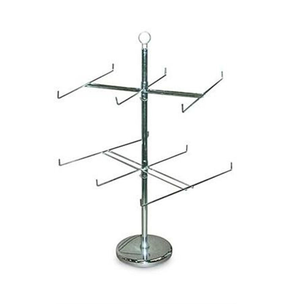 Retail Store Display Hanging Counter Top Spinner Rack 2