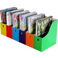 Home Office 6 Magazine File Holder Bin Desk Storage ...