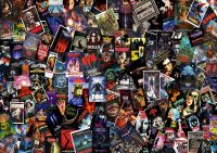 HORROR MOVIE COLLAGE WALL ART POSTER (A1 - A5 SIZES ...
