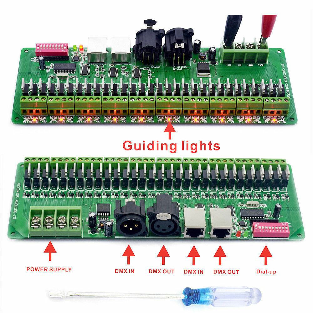 Led Dmx Details About 30channel Dmx 512 Rgb Led Strip Controller Dmx Decoder Led Dmx Dimmer Driver 12v
