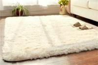 Soft Fluffy Rugs Anti-Skid Shaggy Rug Dining Room Home ...