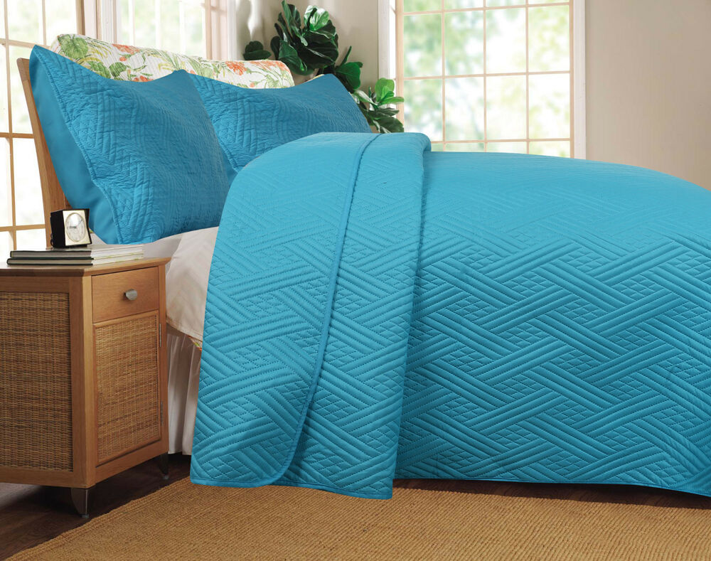 Zomer Dekbed Dada Bedding Lightweight Cozy Solid Blue Turquoise Quilt