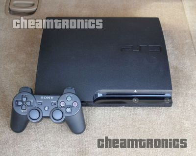 Sony PlayStation 3 Slim 120GB - System Firmware PS3 3.55 OFW Good Condition 711719802204 | eBay