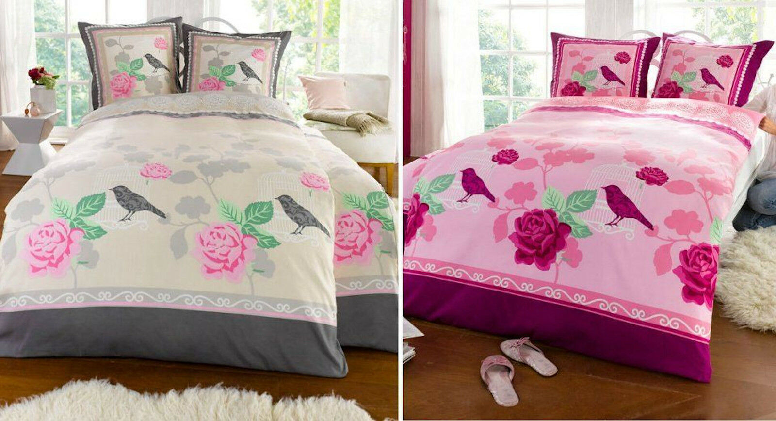 Bed Linens Sets 2 Tlg Bettwäsche Garnitur