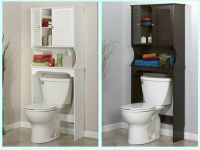 Bathroom Over The Toilet Space Saver Storage Cabinet Shelf ...