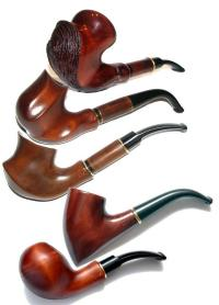 New Tobacco Smoking Pipes Carved Handmade Pipes, Pear tree ...