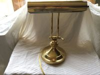 Vintage Brass Adjustable Electric Table Piano Desk Lamp ...
