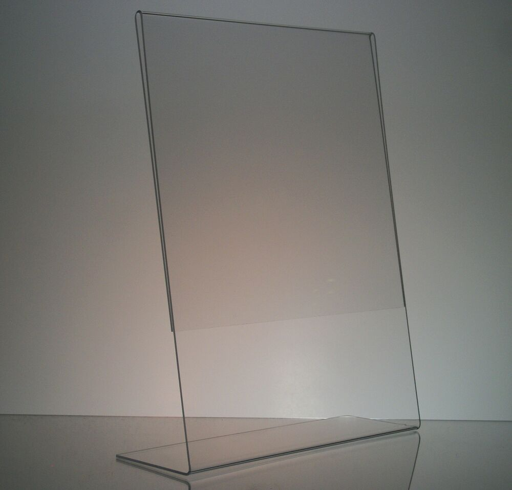 10 8 X 10 Vertical Acrylic Picture Frame Displays Sign