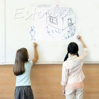 Removable Whiteboard Office Wall Sticker Kids Drawing ...