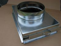return air filter rack plenum, 16x25 with end cap, and ...