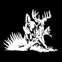 Whitetail Deer buck hunting car truck window vinyl decal ...
