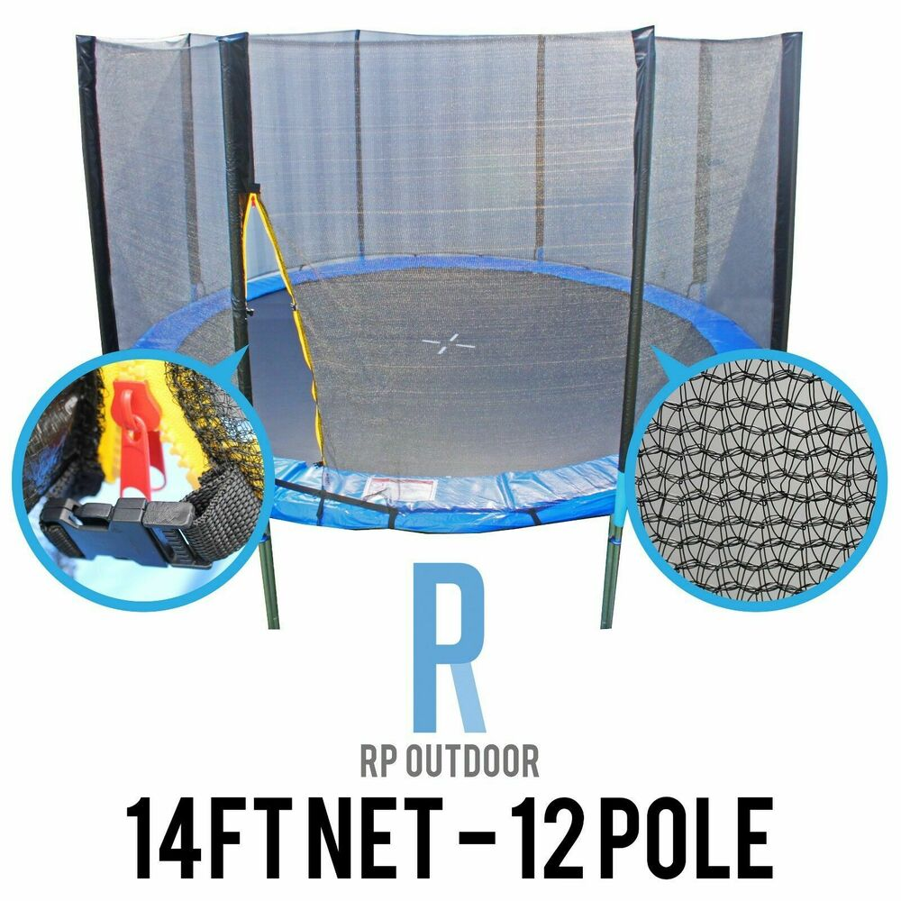 Buy Trampoline Brisbane New Replacement Trampoline Safety Pole Net Round Spare 14ft Foot