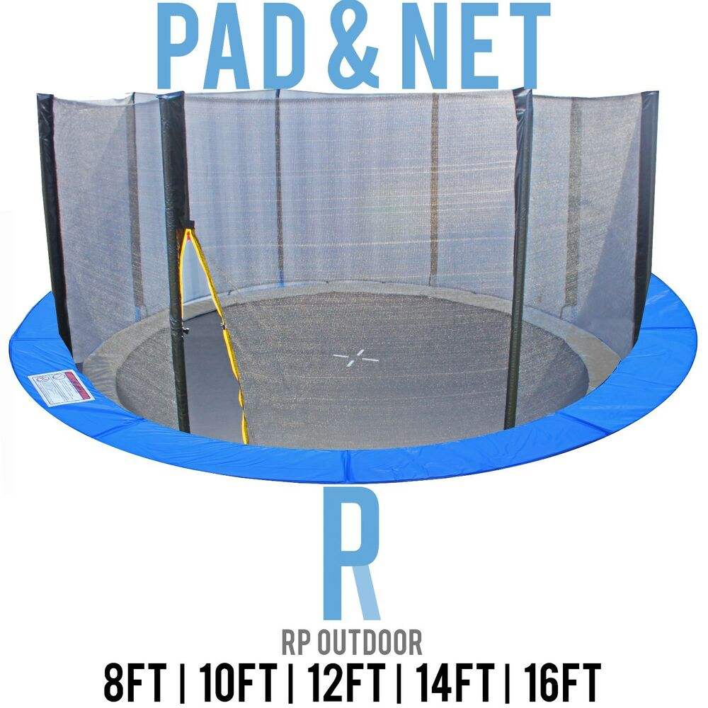 Buy Trampoline Brisbane New Replacement Trampoline Safety Pole Net Pad Round Spare 8ft