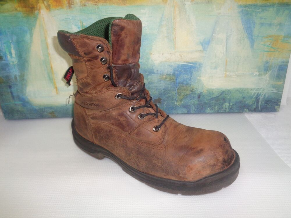 Men39s Red Wing Shoes Work Boots Steel Toe Size 115 D