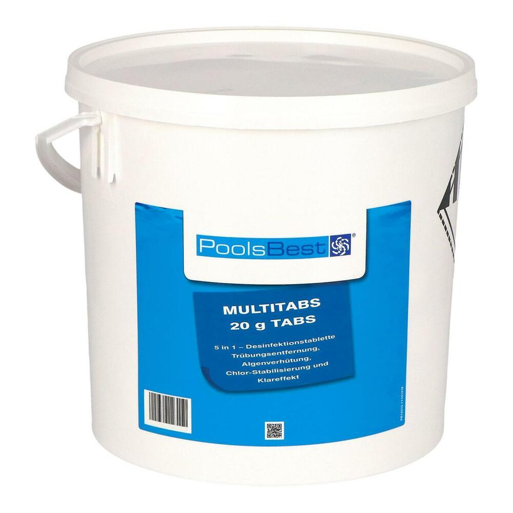 Chlortabletten Mini Pool 10 Kg Poolsbest Mini Multitabs 5 In 1 20 G Chlortabletten Multi Tabs Chlor Ebay