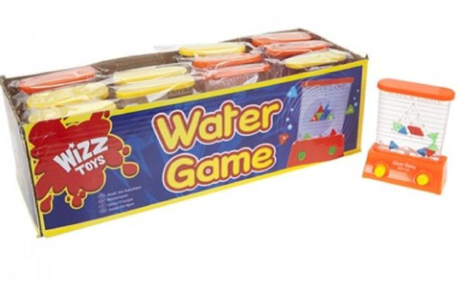 Handheld Water Game Classic Plunger Fun Traditional Toy