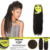 JANET Noir Afro Twist Braid Marley Braiding Hair ...