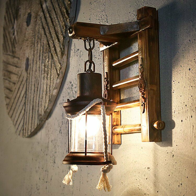 Wandlampen Innen Led Retro Wall Light Vintage Sconce Lamp Lantern Nostalgia