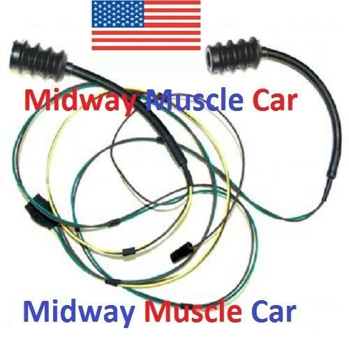 rear body taillight wiring harness Chevy pickup truck 63-66 eBay