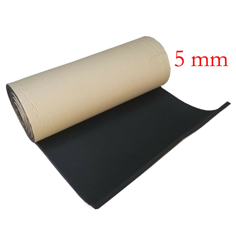 Closed Cell Foam Mat 1 X Car Van Sound Proofing Deadening Insulation 5mm Closed Cell Foam 50x100cm Ebay