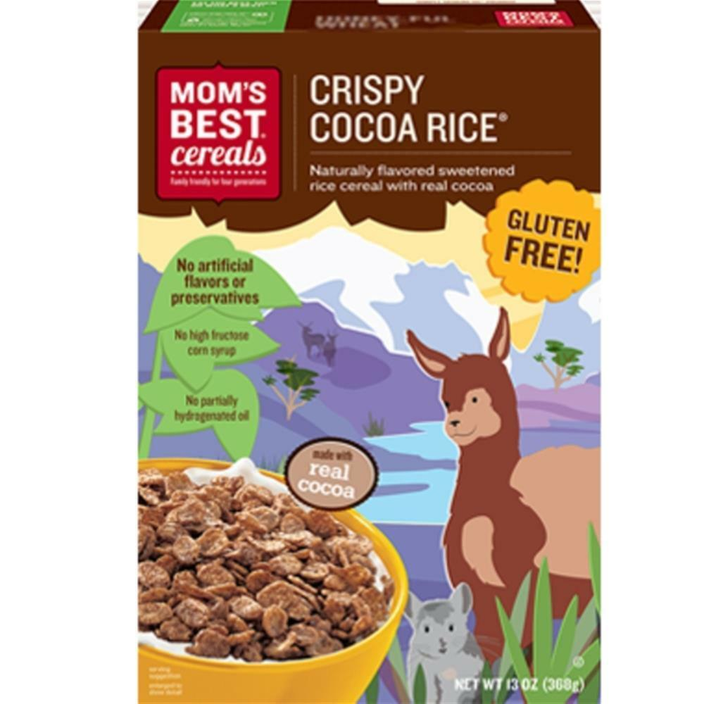 Moms Best Mom S Best Cereal Crispy Cocoa Rice Cereal 14 17 5 Oz Boxes 883978063754 Ebay