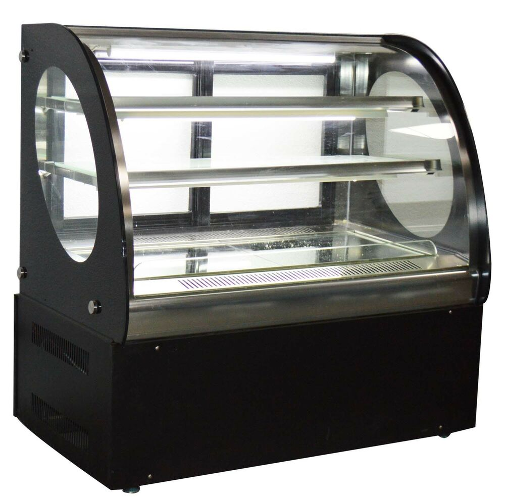 Bakery Display Cabinet Details About Bakery Showcase Refrigerated Cake Pie Display Case Dessert Display Cabinet New