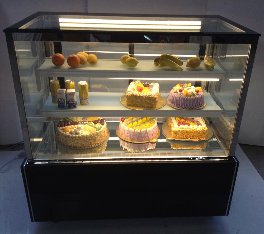 Bakery Display Cabinet Square Cake Showcase Bakery Dessert Bakery Refrigerated Display Cabinet Case220v 615311288827 Ebay