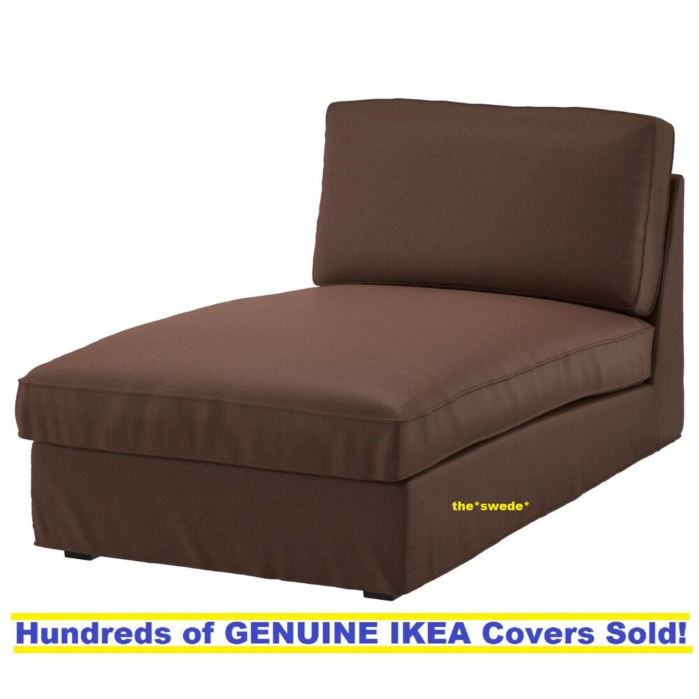 Ikea Les Chaises Ikea Kivik Chaise Lounge Cover Slipcover Borred Dark Brown New Sealed Ebay