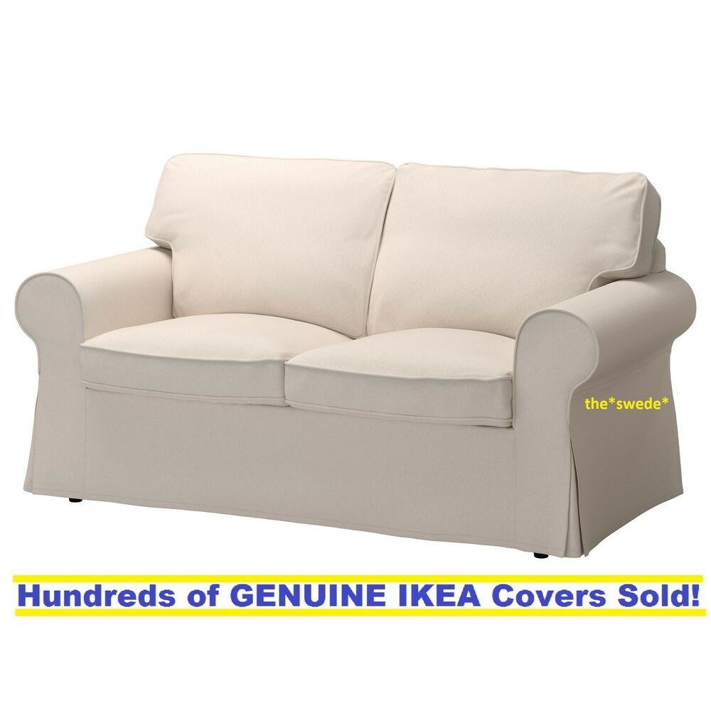 Ektorp Slipcovers Ikea Ektorp Loveseat 2 Seat Sofa Slipcover Cover Lofallet Beige New Sealed Ebay