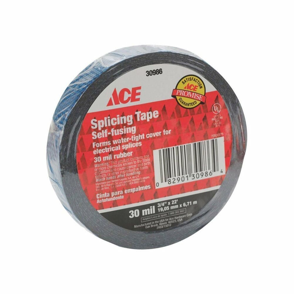 Splicing Tape Ace Hardware 50 30986 Rubber Splicing Tape 30 Mil Thick 22 Length X 3 4