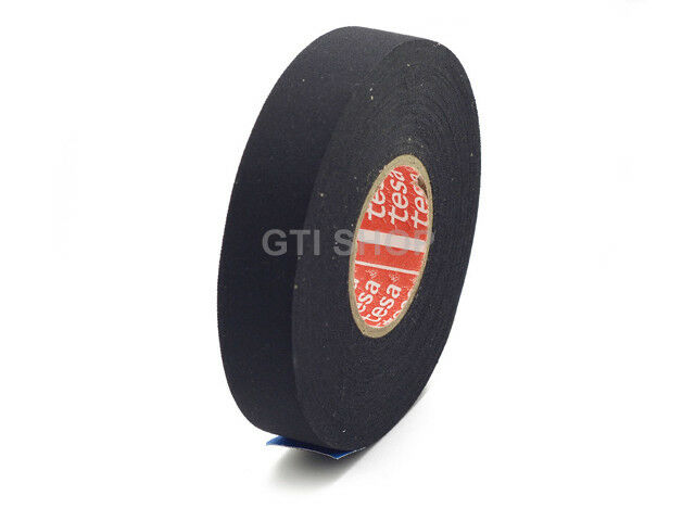 5 Roll / TESA 51036 19mm x 25m Adhesive Cloth Fabric Tape for wiring